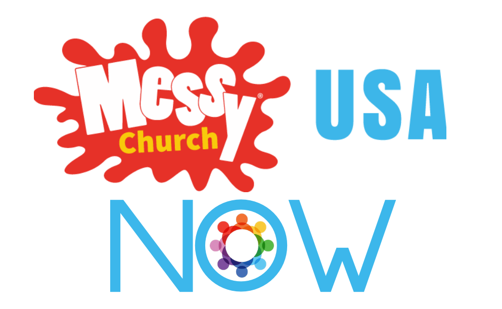 Logo Messy Church NOW
